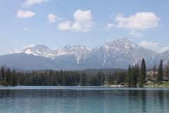 Lake Beauvert Alberta Canada