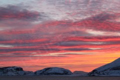 Sunset Arctic Circle 2 Norway