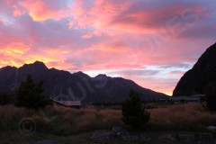 Sunrise Aoraki/Mount Cook National Park New Zealand