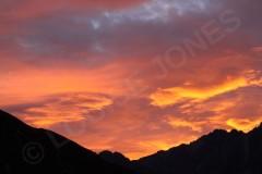 Sunrise Sky Aoraki/Mount Cook National Park-New Zealand