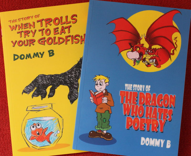 Dominic Berry's Children's Poetry Books