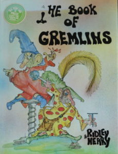 Book cover for 'The Book of Gremlins'
